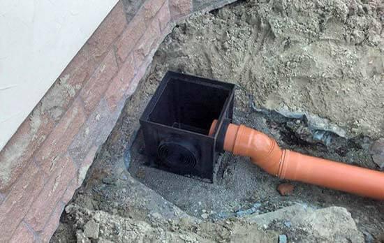 Канализация в бетоне бетон гвоздь
